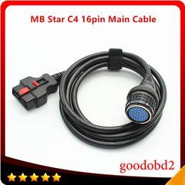 mb stern kompakt c4 sd verbinden Rabatt C4 16pin Hauptkabel MB Star C4 SD Connect Compact 4 für Hauptprüfkabel Multiplexer Autodiagnosewerkzeuge Adapter Zubehör