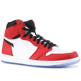 e2439e80b2 2019 Origin Story 1 Chicago Crystal Solefly X 1s Basketball Shoes Spiderman  High NRG Quality Women Mens Chaussures De Baskets Ball Sneakers