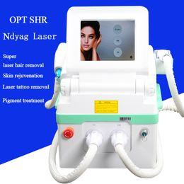 2019 laser vascular Máquina IPL shr remoção portátil do laser do cabelo Elight machine vascular veen laser nd yag laser tottoo remoção desconto laser vascular
