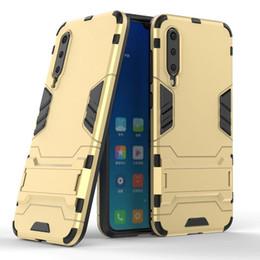 atacado ávido Desconto Caso de telefone de armadura de ferro para xiaomi cc9e mi a3 redmi 7 nota 7 nota 7pro tpu + pc 2 em 1 caso de telefone com suporte para mi9 9se k20 k20 pro