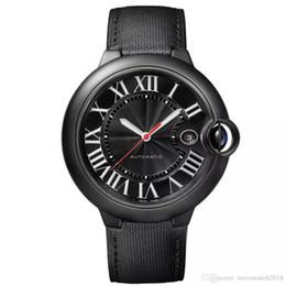 мужские часы с красными лицами Скидка 2019 горячие продажи АВТОМОБИЛЬ Мужские Часы W69012Z4 Серии полное черное лицо красная точка Календарь Циферблат автоматическое движение F1 часы мужские наручные часы