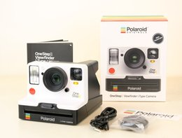 2019 câmeras polaroid Polaroid Onestep2 VF + câmera arco-íris branca com filme do tipo i e filme de 600 câmeras polaroid barato