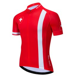 31ff594ae 2019 Switzerland NEW team Cycling Jersey Customized Road Mountain Running  Top Classic max storm Reflective zipper 4 pocket
