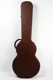 2019 caso di chitarra marrone Vendite dirette della fabbrica della nuova custodia per chitarra in pelle per chitarra LP standard marrone spedizione gratuita caso di chitarra marrone economici