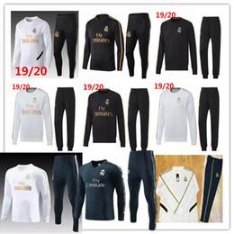 echte madrid sportkleidung Rabatt 2019/20 Real Madrid Trainingsanzug Fußball für Erwachsene Maillot De Foot Trainingsanzug 2019 2020 Trainingsanzug für Erwachsene Survêtement Sportswear