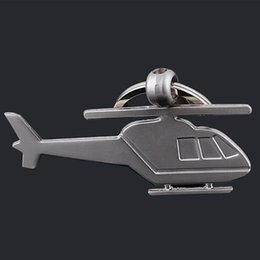 TRASPORTO LIBERO da dhl 100pcs / lot all'ingrosso in lega di zinco portachiavi in metallo portachiavi elicottero per la promozione da