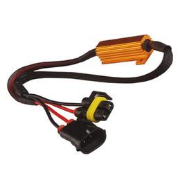 Fendinebbia H11 / H8 Decoder LED Fendinebbia Linea di resistenza LED Resistore fisso oro da
