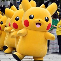 2019 Sıcak satış Maskot Pikachu Maskot Doll Walking Kumamoto yetişkin maskot Animasyon karikatür yetişkin giysileri yürüyen kumamon nereden cep telefonu fabrikası tedarikçiler