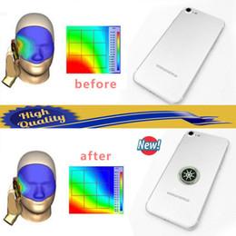 Adesivo mobile anti radiazione online-Schermo di Quantum mobile Sticker Phone con gli ioni negativi Anti Radiation Shield