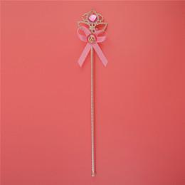 juegos de barbie Rebajas Moda barbie muñeca caña horquilla conjunto popular gema niños barbie princesa varita mágica accesorios para el cabello regalo de la joyería