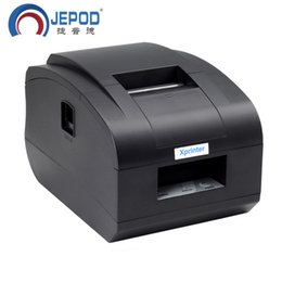2019 kommerzielle etikettendrucker Beförderung! Xprinter XP-58IIH schwarz Direct Thermal USB / USB + Bluetooth-Anschluss 58mm hohe Qualität billig direkt Ticketschein Thermo-Belegdrucker