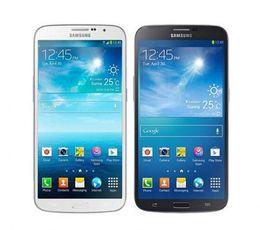 Original mega 6.3 on-line-Recondicionado Original Samsung Galaxy Mega 6.3 i9200 6.3 polegada Dual Core 1.5 GB de RAM 16 GB ROM 8MP 3G Desbloqueado Celular Inteligente Livre DHL