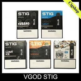 2019 ego e cig wholesale uk VGOD STIG Dispositif Pod Pod jetable 3Pcs Pack 270mAh Batterie 1.2ml Cartouche Vape Pen Kit Vs Novo Vapmod Kit Livraison Gratuite 0268107