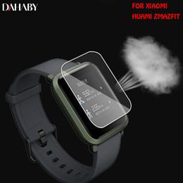 lite guard Promotion DAHABY Soft Film de protection d'écran en TPU pour Xiaomi Huami Amazfit Bip PACE édition jeunesse Lite montre intelligente Clear Guard Pas de verre