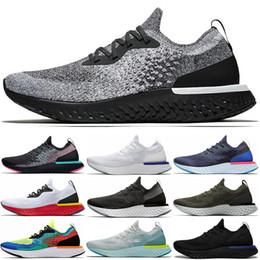 Voa ido on-line-Nike Epic React Flyknit 2 2019 Nova Chegada Reagir Instantâneo Ir Voar Das Mulheres Dos Homens de peso leve tênis causal malha Respirável sports Athletic designer sneaker