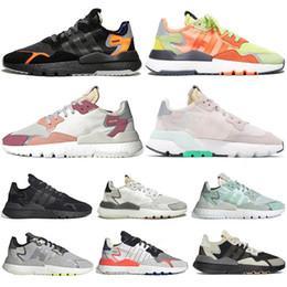 2020 zapatos de diseño unisex adidas ultraboost nite jogger gel asics off white Zapatillas deportivas unisex de la marca 3M Reflective Zapatillas de deporte de triple color negro, todas blancas zapatos de diseño unisex baratos