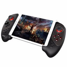 ipega ios игры Скидка Happy iPEGA PG-9083 PG9083 Выдвижной беспроводной Bluetooth игровой контроллер Геймпад для iOS Android смартфон, планшет, ПК, ТВ-бокс
