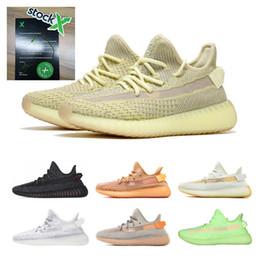 2019 v2 Stock X 700 Kanye West Lundmark Antlia Clay Hyperspace Forma verdadera Negro Reflectante GID Glow Beluga 2.0 Zapatos para correr 36-48 desde fabricantes