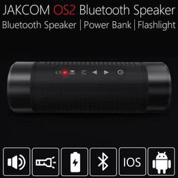 JAKCOM OS2 Altoparlante wireless per esterni Vendita calda negli altoparlanti da scaffale come lega di alluminio alsi7mg hoporlor altavoz da