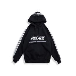 2019 bay backback jersey Clásicos del TRI PALACIOS letras más camisetas de terciopelo otoño invierno polar hombres hoodies marea suéter ocasional del tamaño del monopatín streetwear M-XXL