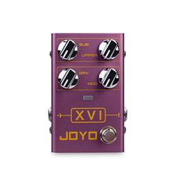 Canada JOYO R-13 VXI Guitare Multi-Effets Processeur de Pédale Octave Octave-up Octave-Down Guitare Électrique MOD Effets Instruments de Musique supplier joyo multi effect pedal Offre