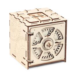 Canada Modèle en bois mécanique de modèle de puzzle en bois de boîte de dépôt de code 3D jouets éducatifs Offre