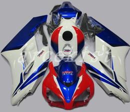 Corone di hrc online-Kit di carene ABS per stampi ad iniezione New 3Gifts Adatta per Honda CBR1000RR 04 05 Kit carena ABS CBR 1000RR 2004 2005 rosso blu HRC