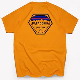 Novas camisas da flor mens on-line-S - 3XL Mens Camisas Patagonia Designer Primavera e Verão New Exquisite Flor Ilustrações T-shirt dos homens