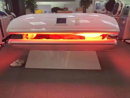 кроватки с красным светом Скидка Коллаген терапия машина / красный свет муравей-старение / Красота уход за кожей Оборудование PDT кровать Инфракрасный красный свет терапии привело кровать Для дома Ues
