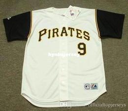 pittsburgh gewohnheit Rabatt Günstige Custom BILL MAZEROSKI Pittsburgh genäht 1966 majestätische Vintage Home Baseball Jersey Retro Herren Trikots ausgeführt