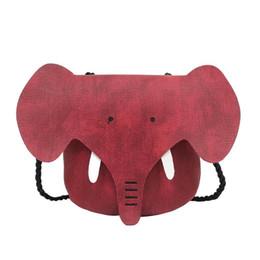 Bello raccoglitore sveglio della ragazza online-Cute Elephant Girls Purse Handbag Bambini Bambini Crossbody Shoulder Bags per Ladies Cartoon Lovely Money Phone Mini Wallet