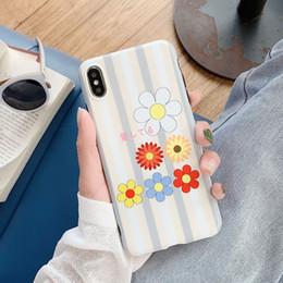 2019 iphone elegant Für iphone xs max xr telefon case elegante blumen seitenmuster abdeckung 6 7 8 x plus imd tpu weiche handy cases günstig iphone elegant
