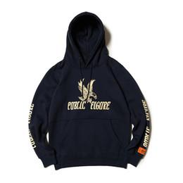 Canada Hip Hop Planche À Roulettes Streetwear Grue Héron Preston Hoodies PUBLIC EIGURE DSNY Kanye Ouest Armée Eagle Sweats Hommes cheap eagles sweatshirt Offre