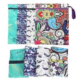 фирменные сумки для пеленок Скидка Младенческая сумка для пеленок Мокрый 2019 бренд водонепроницаемый пеленки рюкзак детские сумки с набивным рисунком моющиеся подгузник сумка детская пеленания сумка