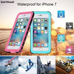 Canada Coque Apple iPhone 7 (4.7 pouces) Couverture totale Protéger PC + TPU Protection contre la dureté de l'eau pour iPhone 7 Coque de protection pour iPhone 7 C18112001 cheap iphone full covers Offre