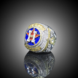 anéis de dedo antigos Desconto Séries de campeonato de jóias Anéis 2017 2018 Hou Astros Campeonato Mundial de Beisebol Anel Altuve Springer Fan Presente atacado