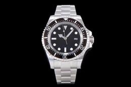 2019 spaten uhr Luxus Herrenuhren 116660 Automatikuhr schwarze Scheibe CAL.3135 vollautomatisches Uhrwerk 44mm Luxusuhren