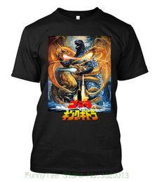 2019 roi personnalisé Nouveau Monstre Super Gozdilla Vs King Ghidorah - T-shirt Personnalisé Pour Hommes roi personnalisé pas cher