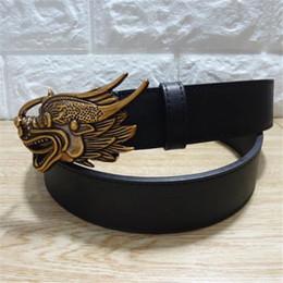 Italie Designer Casual Ceintures Fashions Ceinture en cuir de dragon oriental Ceinture en cuir pour femme, ceinture, Animaux de luxe, Ceinture classique ? partir de fabricateur