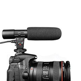 karaoke del microfono del mp3 Sconti DishyKooker fotocamera microfono 3,5 millimetri Digital Video Recording Microfono per D-SLR Nikon Canon Camera / / videocamera DV