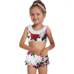 58b3b51013 Bikini 2019 Swimsuit Mother And Daughter Print one Piece Swimsuit Matching Clothing  Bikini Swimwear Dresses  28