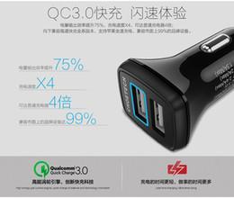 obd recorder car Скидка 30W Dual USB Автомобильное зарядное устройство для iPhone X Quick Charge 3.0 Зарядное устройство для телефона с дополнительным USB-кабелем для Samsung Galaxy S9 Plus