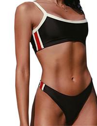 Traje de baño para chicas nuevas online-2019 mujeres Bikini nuevo traje de baño dividido con Triangular Pure Sexy Birkini Girls, descuento barato natación deportes traje de baño flexible elegante