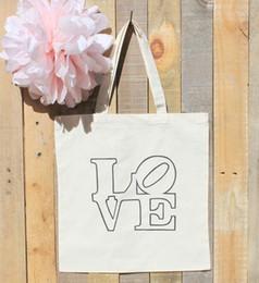 Косметика для гостиниц онлайн-Свадьба ЛЮБОВЬ Статуя графика Приветственная сумка Отель Фавор Сумки для покупок Сумка для покупок Холстина для путешествий Косметическая сумка на молнии