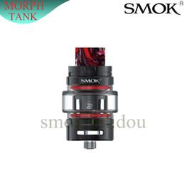 Atomizador de cigarrillo electronico 6ml online-100% Auténtico SMOK TF Tanque TF2019 Atomizador 6 ml TF Bobina de malla de reemplazo Cigarrillos electrónicos Sistema de llenado superior de 510 thead para Morph Kit