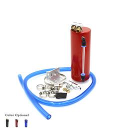 Serbatoio di raccolta dell'olio online-Serbatoio olio di alluminio universale da corsa Catch Tank / CAN può essere utilizzato per il serbatoio di carburante