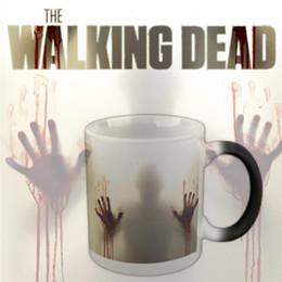 Halloween Originalmente Projetado Presente de Aniversário Retro Zombie Chameleon Cup Engraçado Presente Criativo copos Terrifying Canecas 4975 de
