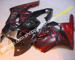 Para carenado Kawasaki Ninja ZX12R 00 01 ZX-12R ZX 12R 2000 2001 Rojo Flame ABS motocicleta carenado (moldeo por inyección) desde fabricantes