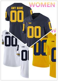 желтый перец Скидка NCAA Мичиганская форма росомахи 4 Jim Harbaugh 2 Чарльз Вудсон 5 Jabrill Peppers Джерси МУЖЧИНЫ ЖЕНЩИНЫ МОЛОДЕЖИ желтый синий Белый футбол футбол