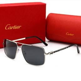 2019 ok, óculos Designer de óculos de sol de luxo óculos de sol p0125 óculos de marca para homens retângulo moda óculos de condução uv400 alta qualidade com caixa chegam de novo